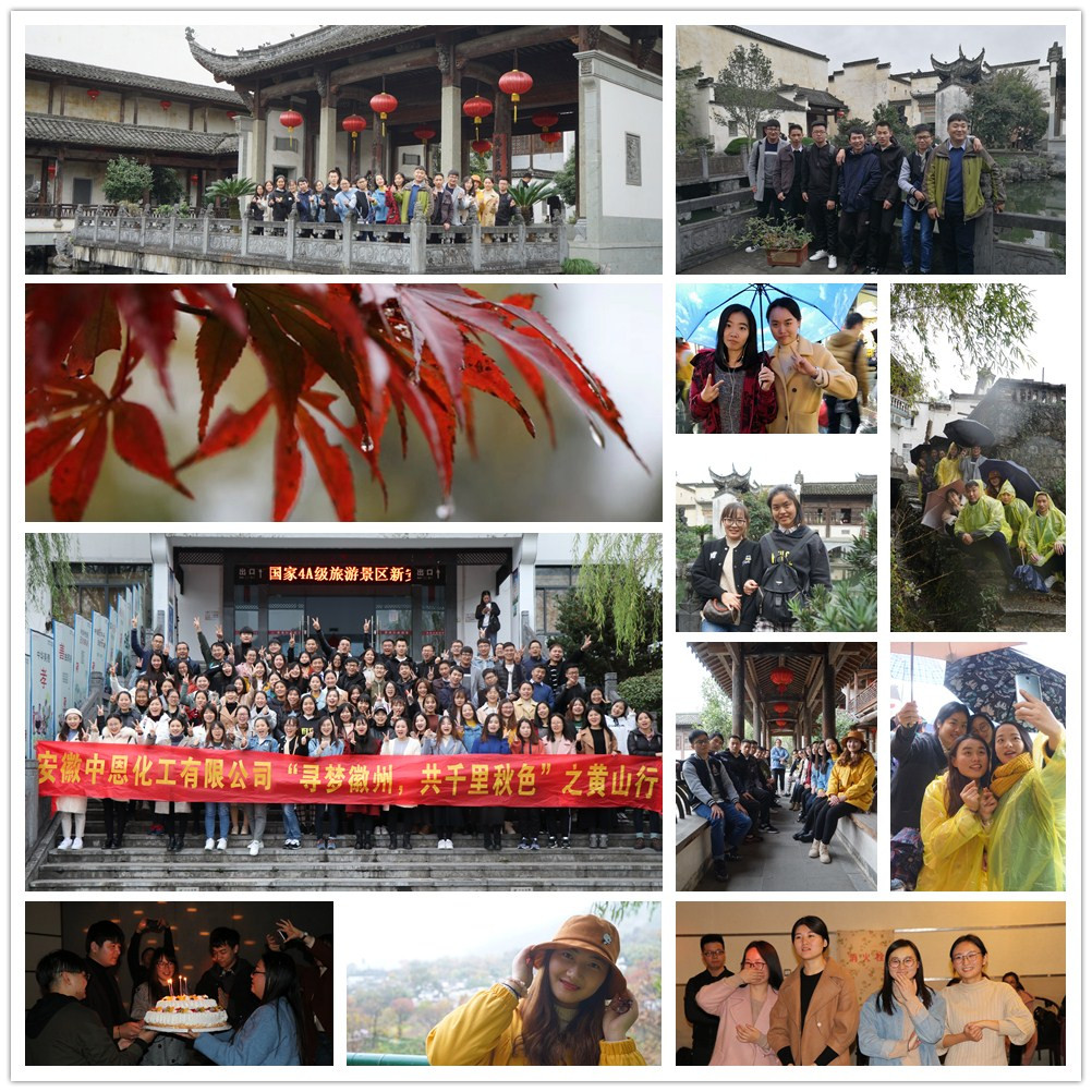 Trip to huangshan-SINOGRACE CHEMICAL