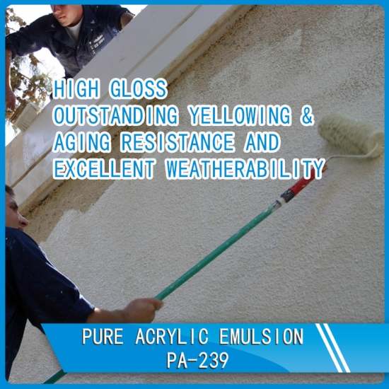 Buy Pure Acrylic Emulsion Pa 239 Suppliers Manufacturers