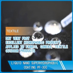 fouling resistant hydrophobic spray