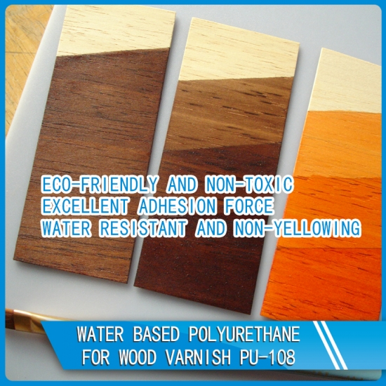 Buy Water Based Polyurethane For Wood Varnish Pu 108