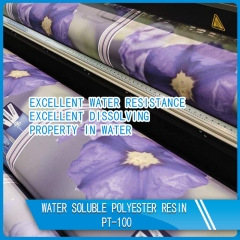 Water soluble polyester resin