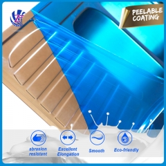 polyurethane peelable protective coating