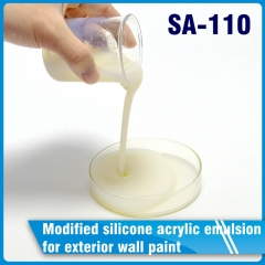 Modified silicone acrylic emulsion