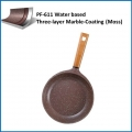 Teflon Coatings/Water based Three-layer Marble-Coating (Moss) PF-611