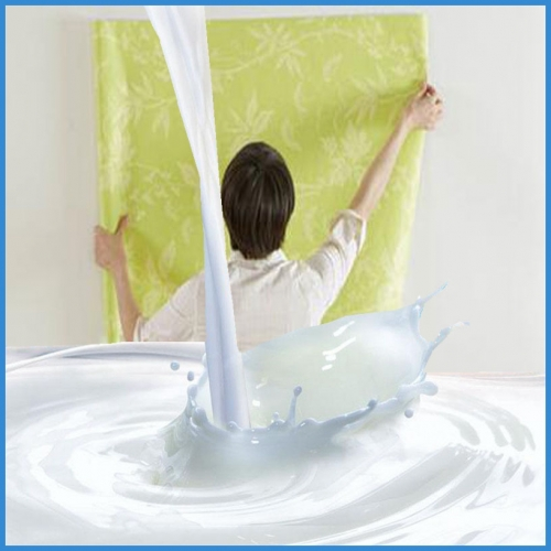 Water based wallpaper glue