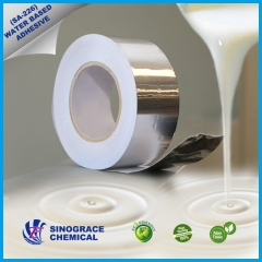 Water based acrylic adhesive