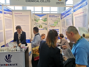 Warm congratulations to anhui sinograce chemical on its successful participation in the exhibition in Belgium